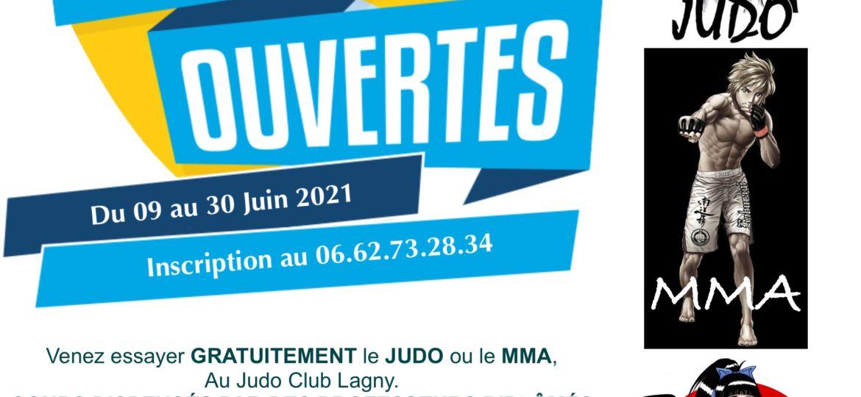 PORTES OUVERTS JUDO 2021